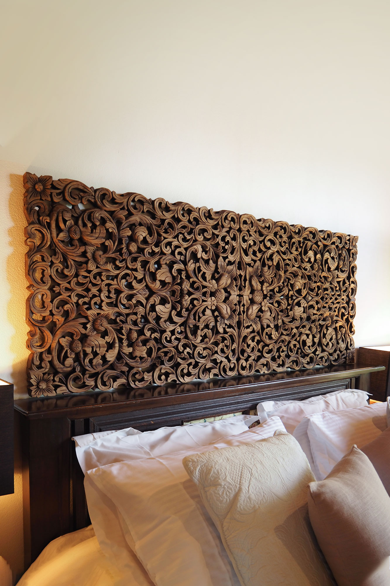 Buy Tropical Frond King Size Headboard Online