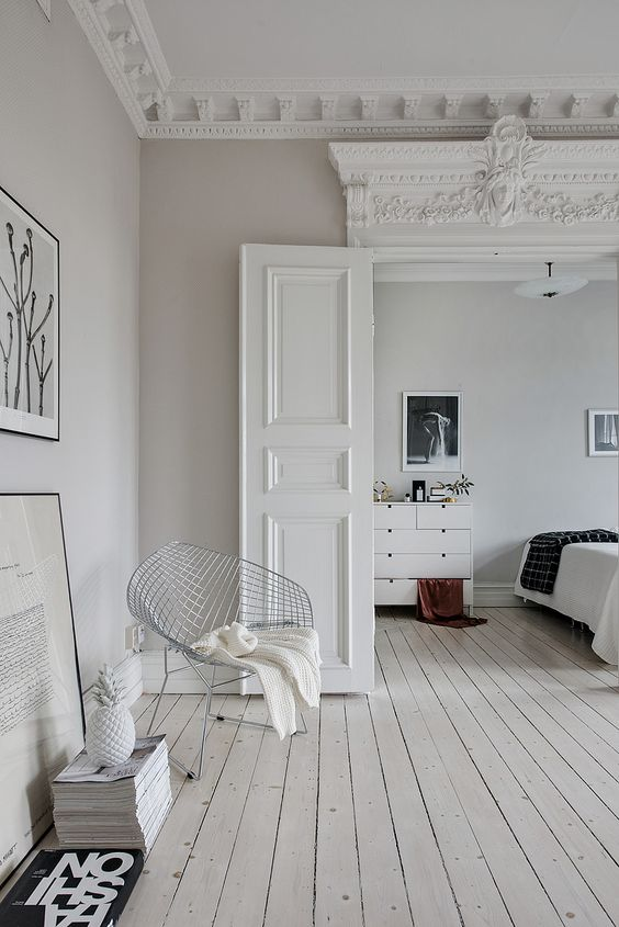 White Bedroom Cosy Light Lines - Create Your Own Comfy White Bedroom