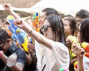Modern Songkran 300x240 - Songkran, A Splashy Thai New Year Festival
