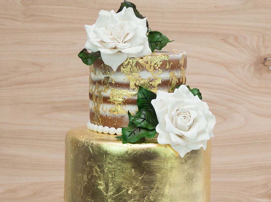 01 - Top 4 tips of working with gold leaf for pastry or other products