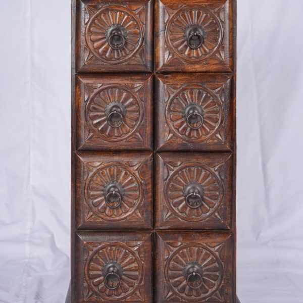 Wood Stain Oak Furniture Handmade from India